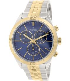 Festina Men's F16763/2 Gold Stainless-Steel Quartz Watch