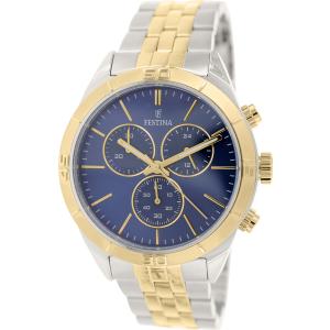 Festina Men's Classic F16763/2 Silver Stainless-Steel Quartz Watch