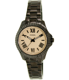 Fossil Women's Cecile AM4614 Black Stainless-Steel Quartz Watch