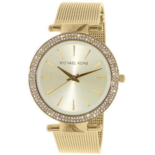 3186dbc680e7 ... UPC 796483142060 product image for Michael Kors Women s Darci MK3368  Gold Stainless-Steel Quartz Watch