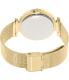 Michael Kors Women's Darci MK3368 Gold Stainless-Steel Quartz Watch - Back Image Swatch