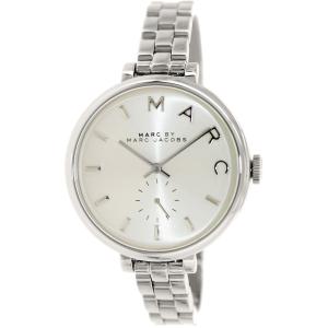 Marc by Marc Jacobs Women's Skinny Baker MBM3362 Silver Stainless-Steel Quartz Watch