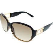 Guess Women's  GU7226-BRN-34 Brown Round Sunglasses