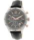 Nautica Men's Bfd 104 N16660G Black Leather Quartz Watch - Main Image Swatch