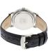 Citizen Men's Eco-Drive AO9000-06B Black Leather Quartz Watch - Back Image Swatch