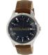 Armani Exchange Men's Hampton AX2133 Brown Leather Quartz Watch - Main Image Swatch
