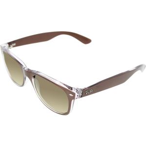 Ray-Ban Men's Wayfarer RB2132-614585-55 Brown Wayfarer Sunglasses