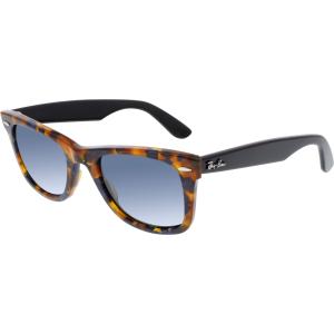 Ray-Ban Women's Wayfarer RB2140-1158R5-50 Brown Square Sunglasses