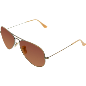 Ray-Ban Men's Aviator RB3025-167/2K-58 Gold Aviator Sunglasses