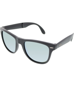 Ray-Ban Men's Mirrored Wayfarer RB4105-602230-54 Grey Wayfarer Sunglasses