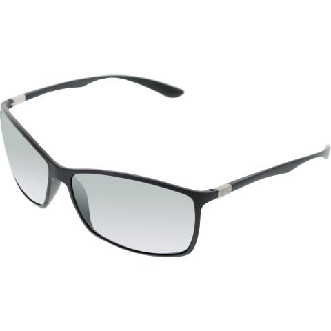Ray-Ban Men's Gradient RB4179 RB4179-601S82-62 Black Rectangle Sunglasses