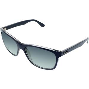 Ray-Ban Men's  RB4181-613671-57 Blue Square Sunglasses