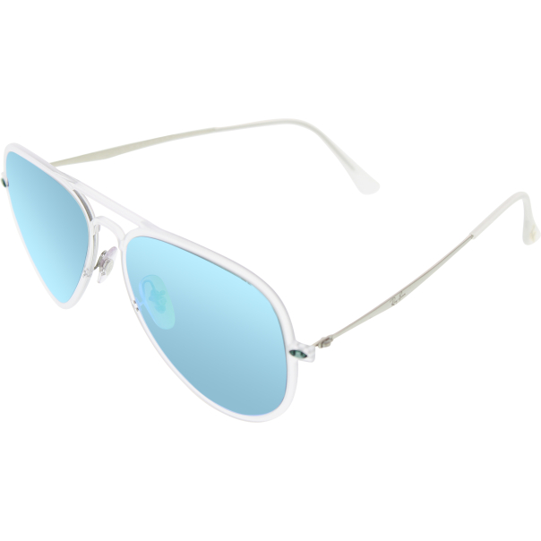 clear wayfarer sunglasses  rb4211-646/3r-56 clear