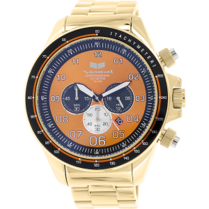 Vestal Men's Zr-3 ZR3029 Gold Stainless-Steel Quartz Watch