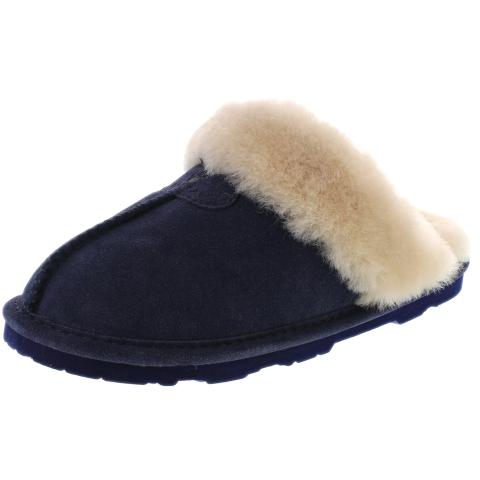 Bearpaw Women's Loki Ii Ankle-High Suede Slipper