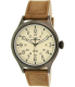 Timex Men's Expedition T49963 Brown Leather Analog Quartz Watch - Main Image Swatch