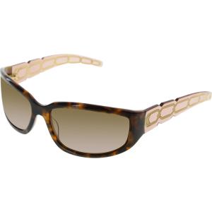 Nicole Miller Women's  MA65444 Tortoiseshell Rectangle Sunglasses