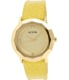 Nixon Women's Bobbi A341501 Yellow Leather Quartz Watch - Main Image Swatch