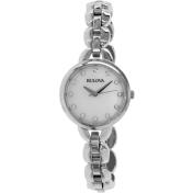 Bulova Women's 96L204 Silver Stainless-Steel Quartz Watch