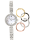 Bulova Women's 98X107 Silver Stainless-Steel Quartz Watch - Main Image Swatch