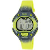 Timex Men's Ironman T5K829 Green Rubber Quartz Watch
