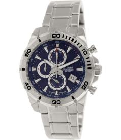 Citizen Men's AN3490-55L Silver Stainless-Steel Quartz Watch