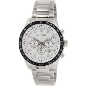Citizen Men's AN8070-53A Silver Stainless-Steel Analog Quartz Watch