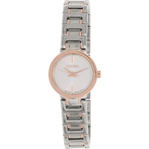 Citizen Women's EX0334-55A Silver Stainless-Steel Quartz Watch