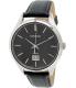 Seiko Men's SUR023P2 Black Leather Quartz Watch - Main Image Swatch