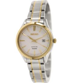 Seiko Women's SXDG20 Silver Stainless-Steel Quartz Watch