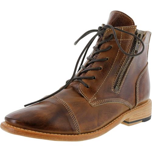 Bed Stu Women's Bonnie Tan Rustic High-Top Leather Boot - 8M