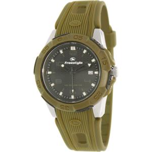 Freestyle Men's Kampus 10016968 Green Rubber Analog Quartz Watch