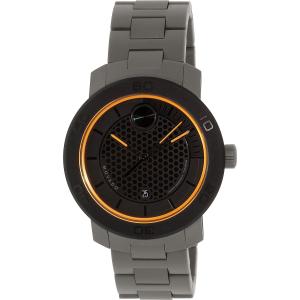 Movado Men's Bold 3600098 Black Stainless-Steel Swiss Quartz Watch