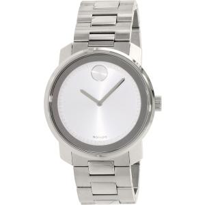 Movado Men's Bold 3600257 Silver Stainless-Steel Swiss Quartz Watch