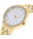 Michael Kors Women's Wren MK3214 Gold Stainless-Steel Quartz Watch - Side Image Swatch