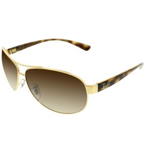 Ray-Ban Men's  RB3386-001/13-67 Gold Aviator Sunglasses