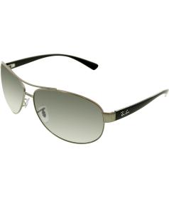 Ray-Ban Men's  RB3386-029/11-67 Silver Aviator Sunglasses