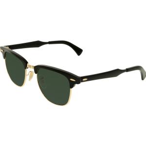 Ray-Ban Men's Clubmaster RB3507-136/N5-49 Black Square Sunglasses