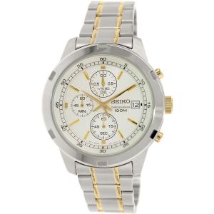 Seiko Men's SKS423 Silver Stainless-Steel Quartz Watch