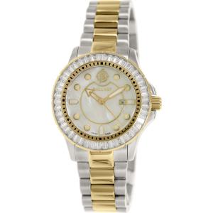 Ballast Women's Vanguard BL-5101-55 Silver Stainless-Steel Swiss Quartz Watch