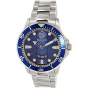 Ballast Men's Vanguard BL-3114-33 Silver Stainless-Steel Swiss Quartz Watch