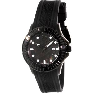 Ballast Women's Vanguard BL-5101-0C Black Rubber Swiss Quartz Watch