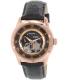 Bulova Men's 97A116 Black Leather Automatic Watch - Main Image Swatch