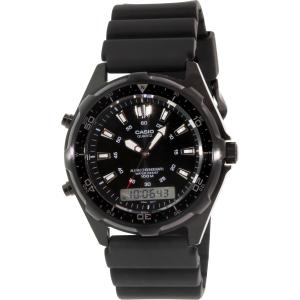 Casio Men's AMW320B-1AV Black Rubber Quartz Watch
