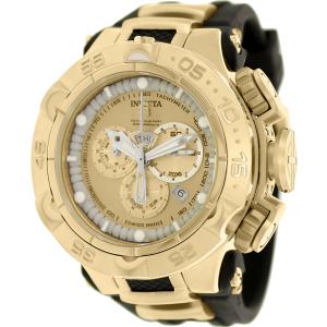 Invicta Men's Subaqua 15926 Black Rubber Swiss Chronograph Watch