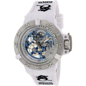 Invicta Women's Subaqua 17138 White Rubber Automatic Watch