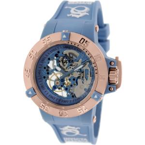 Invicta Women's Subaqua 17142 Blue Rubber Automatic Watch
