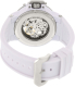Invicta Women's Subaqua 17143 White Rubber Automatic Watch - Back Image Swatch