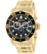 Invicta Men's Pro Diver 0072 Gold Stainless-Steel Swiss Chronograph Watch - Main Image Swatch