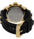 Invicta Men's Pro Diver 6983 Gold Rubber Swiss Chronograph Watch - Back Image Swatch